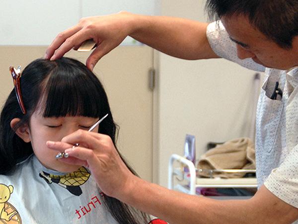 美祢市の美容室ヘアデザイナーズ・モア-こどもカット